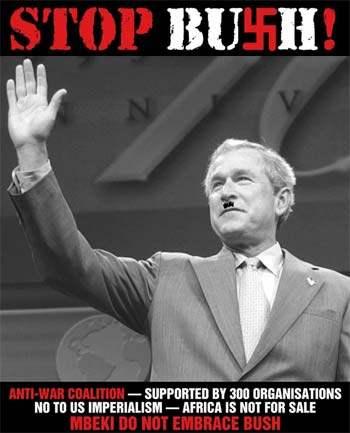 Bush worse than hitl...