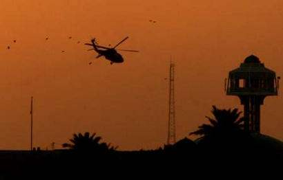 U.S. Helicopter shot...