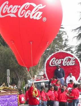The Coca Cola compan...
