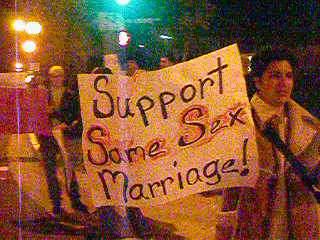Support same sex mar...