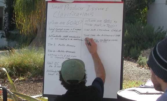 Writing Down Ideas...