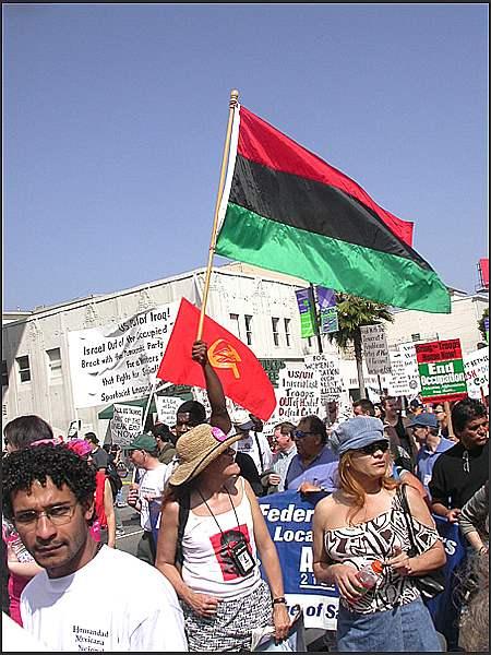 PAN AFRICAN FLAG...