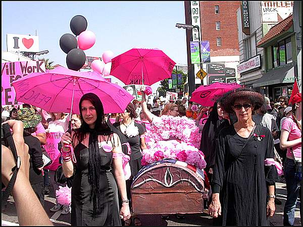 CODE PINK Protests A...