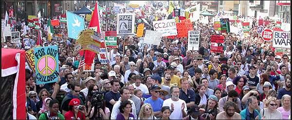 LA Protest Against W...