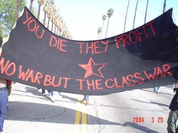 no war but class war...