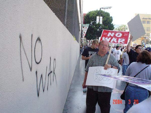 No war!...