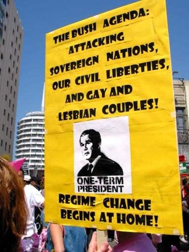 Regime Change...