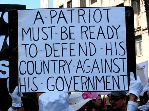 True Patriotism...