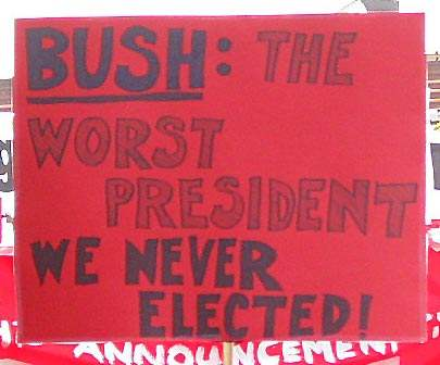Worst President...