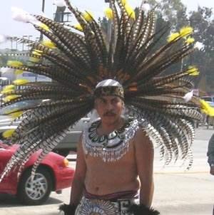 Indigenous Dancer...