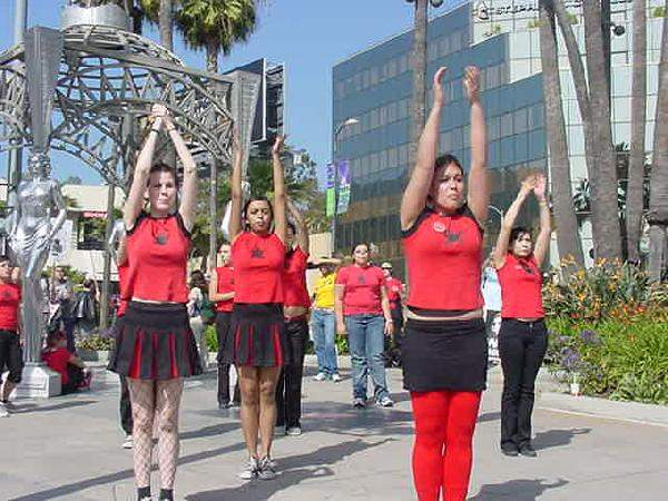 Radical cheerleaders...