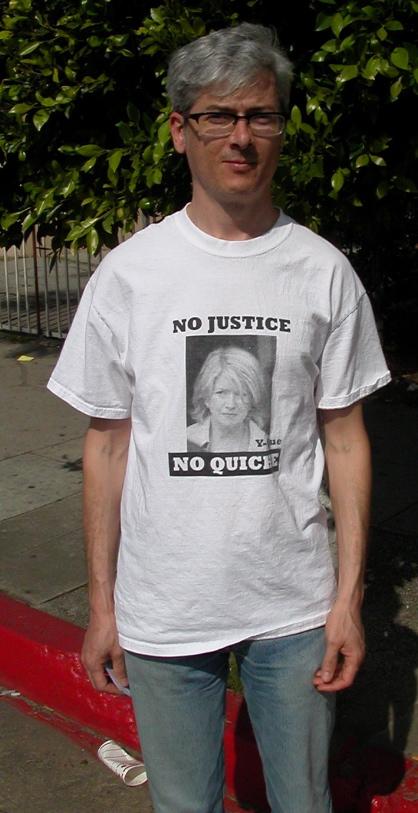 No Justice No Quiche...