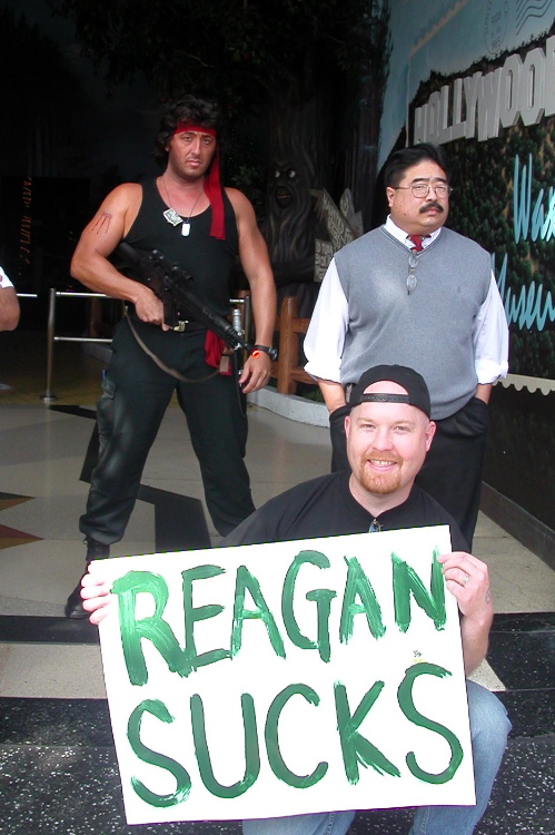Reagan Sucks...