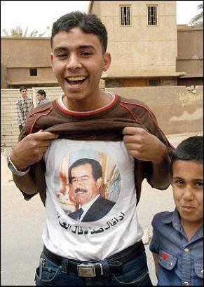 Free Saddam Hussein...