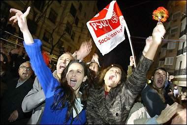 Socialists win Spain...