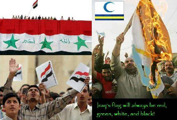 Iraqis stage protest...