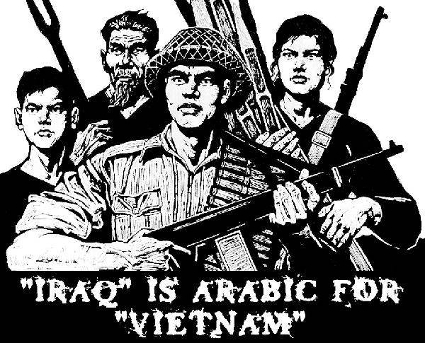Iraq is Arabic for V...