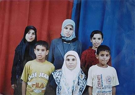 Palestinian family b...