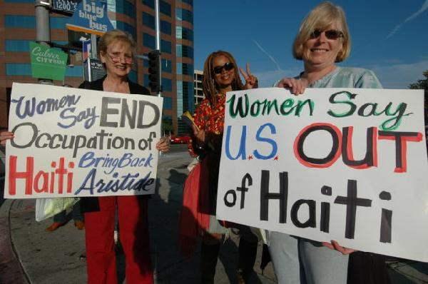 U. S. Hands Off Hait...