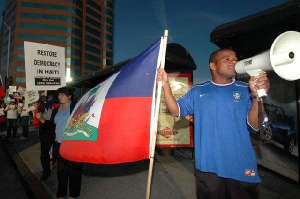 Hands off Haiti...