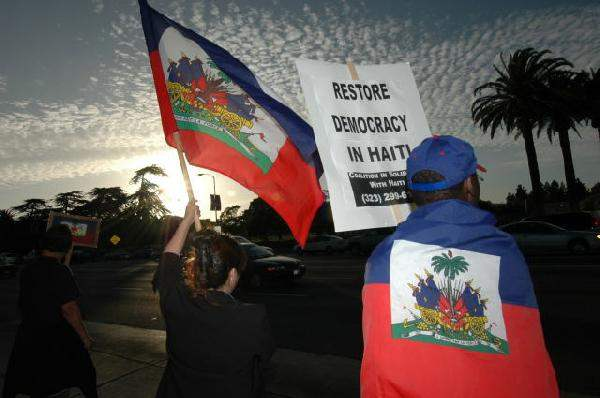 Hands off Haiti Rall...