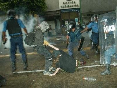 repression...
