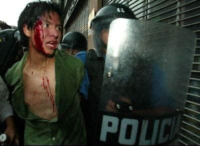 represion y tortura ...