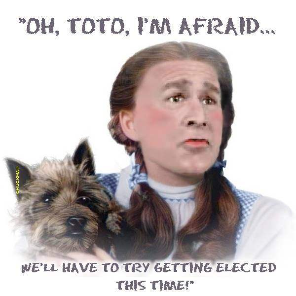 """""""OH, TOTO, I'M ..."""