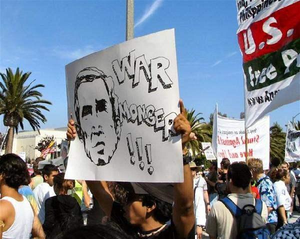 A13 Bush Protest in ...