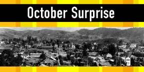 The October Surprise...