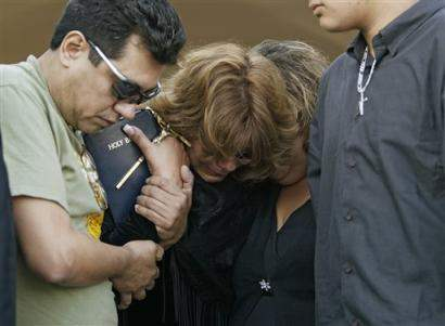 Family in Mourning...