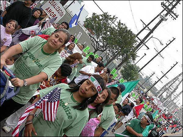The East LA March on...