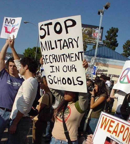 Stop Military Recrui...