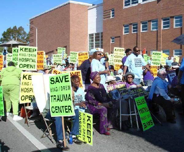 Demonstrators Viewed...