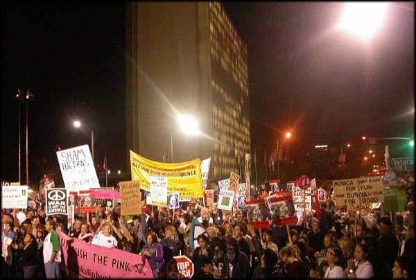 Inauguration Protest...