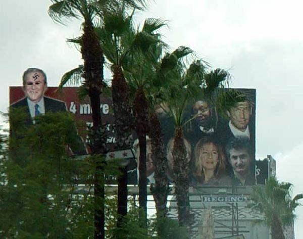 Bushed on Hollywood ...