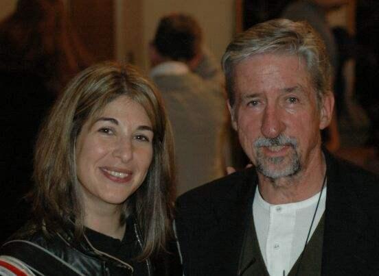 With Tom Hayden...