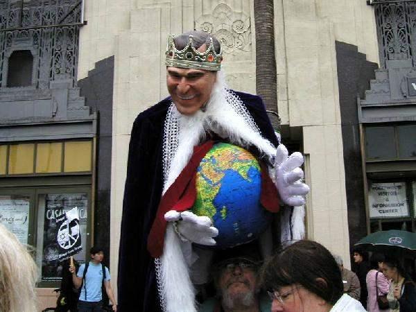 Mad King George...