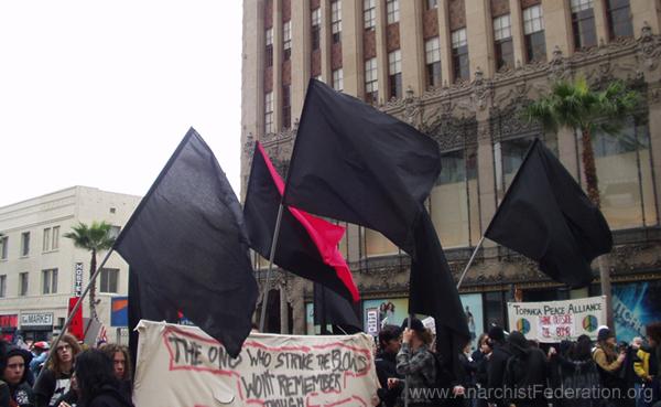 Anarchist Contingent...