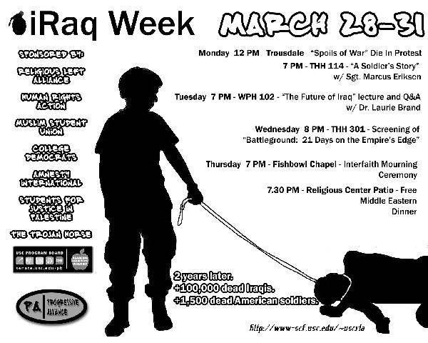 Iraq Week at the Uni...