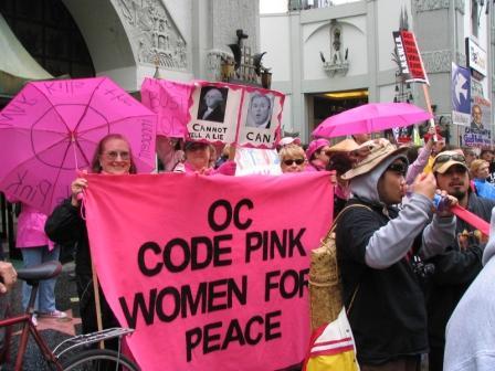 Code Pink rockin  th...
