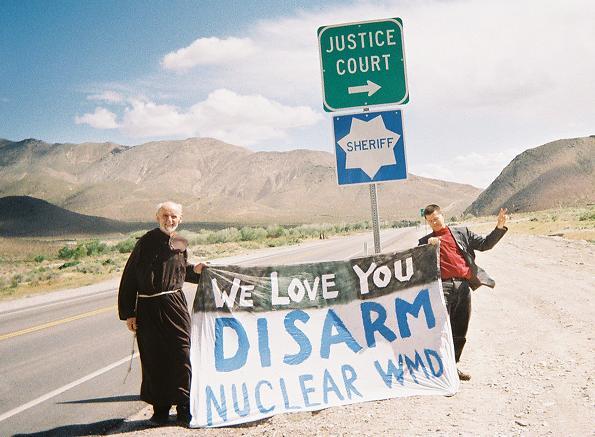 Peace Activists Arre...