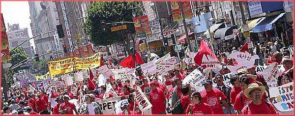 May Day in Los Angel...