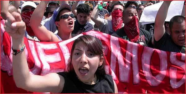 Demo in Baldwin Park...