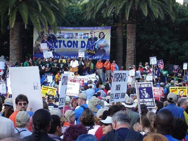 Demonstration Near S...