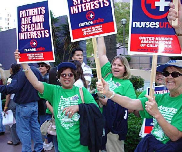 Nurses Take Over Sid...