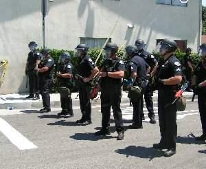 Police Presence...