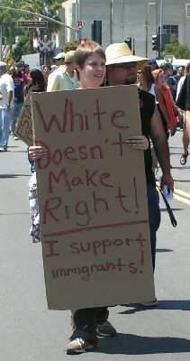 Whites opposed to ra...