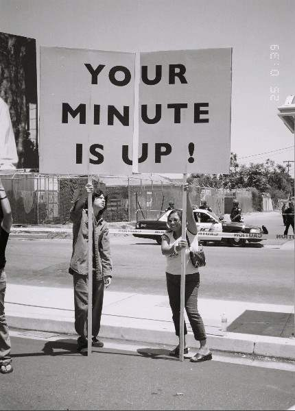 Your Minute is up!...