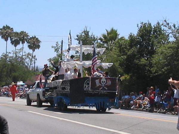 Our parade Marshall ...